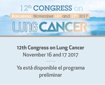 Ya está disponible el programa preliminar del 12th Congress on Lung Cancer